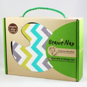 Beanie Nap Comforter Baby Pillow - Wavy