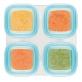 OXO TOT Baby Blocks Freezer Storage Containers (4oz/120ml) - Aqua