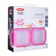 OXO TOT Baby Blocks Freezer Storage Containers (4oz/120ml) - Pink
