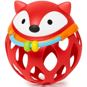 SKIP HOP Explore & More Roll-Around Rattle - Fox