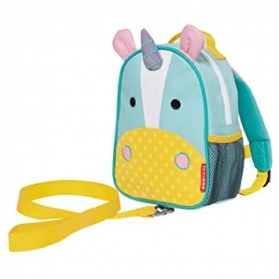 SKIP HOP Zoo Safety Harness Mini Backpack - Unicorn