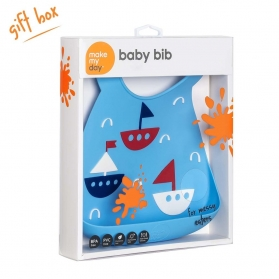 Make My Day Baby Bib - Yacht Ahoy Matey