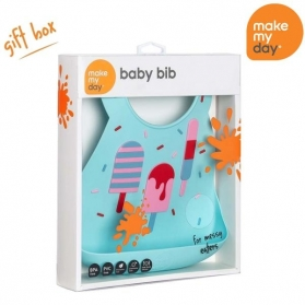 Make My Day Bib - Meltdown Lollipop