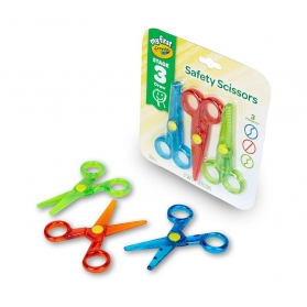 MY 1ST CRAYOLA Safety Scissors - 3pcs