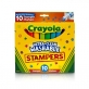 Crayola Ultra-Clean Washable Stamper Markers 10ct
