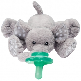 Nookums® Paci-Plushies Buddies Pacifier Holders - Ella Elephant