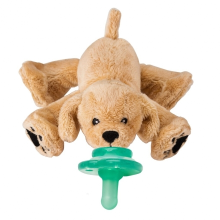 Nookums® Paci-Plushies Buddies Pacifier Holders - Rufus Puppy