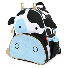SKIP HOP Zoo Little Kid Toddler Backpack - Cow