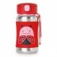 SKIP HOP Zoo Stainless Steel Straw Bottle - Ladybug (350ml/12oz)