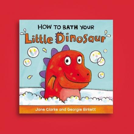How To Bath Your Little Dinosaur