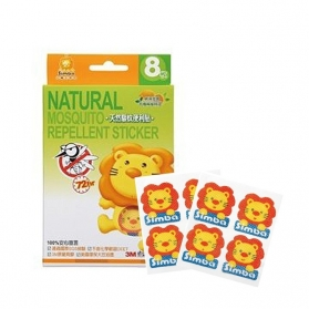 SIMBA Natural Citronella Mosquito Repellent Sticker (8pcs)