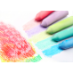 Joan Miro Washable Sidewalk Chalk - 15 Colors 20 Pieces Set