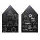 Joan Miro Blackboard Chalkboard Wall Sticker