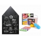 Joan Miro Blackboard Chalkboard Wall Sticker & Dust-Free Chalk