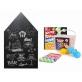 Joan Miro Blackboard Chalkboard Wall Sticker & Dust-Free Chalk