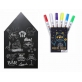 Joan Miro Blackboard Chalkboard Wall Sticker & Liquid Chalk