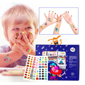 Joan Miro Tattoo & Nail Stickers for Boys & Girls