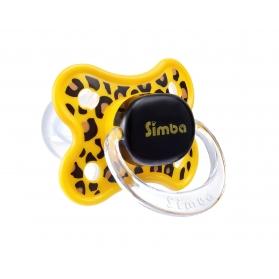 SIMBA 3D THUMB SHAPE PACIFIER - LEOPARD (0m+/6m+)