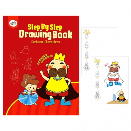 Joan Miro Step By Step Drawing Book - Cartoon Characters