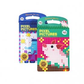 Joan Miro Pixel Pictures Coloring Book