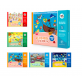 Joan Miro Reusable Sticker Pad - School Life