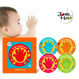 Joan Miro Punishment Palm Removable Stickers 4pcs/pack