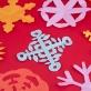 Joan Miro Fun Paper-Cut Art Kit - Christmas Party