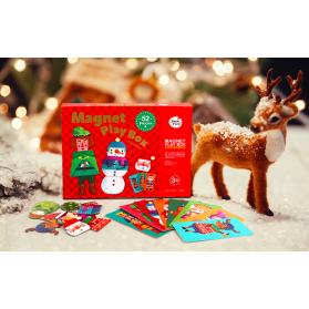 Joan Miro Magnet Play Box - Happy Christmas