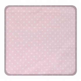 COMFY LIVING BOLSTER COVER (S)  - Pink Dot