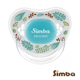 Simba Crystal Romance Pacifier - Herb Blue