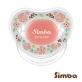 Simba Crystal Romance Pacifier - Rose Pink