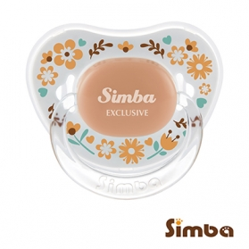 Simba Crystal Romance Pacifier - Sunny Brown