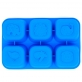 Marcus & Marcus Food Cube Tray 100% Silicone - Blue