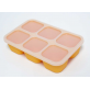 Marcus & Marcus Food Cube Tray 100% Silicone - Yellow