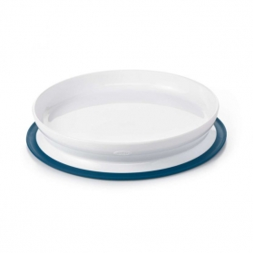 OXO TOT Stick & Stay Suction Plate - Navy