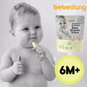 Bebedang Organic Puffed Rice Snack (Stage 1: 6m+)