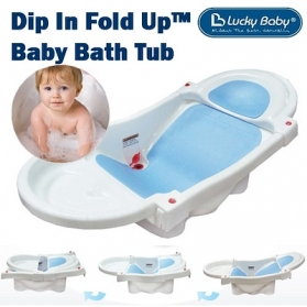 Lucky Baby Dip In Fold Up™ Bath Tub