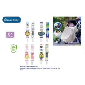 Lucky Baby Klipz-On™ Adjustable Strap
