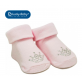 Lucky Baby First Soks™ Fold Up Socks - Princess Crown
