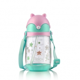 RELAX TRITAN KIDS WATER BOTTLE 300ml - Pink