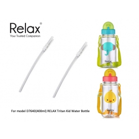 RELAX TRITAN KIDS WATER BOTTLE 400ml [REPLACEMENT STRAWS]