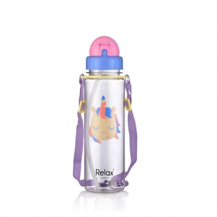RELAX TRITAN KIDS WATER BOTTLE 550ml - Purple