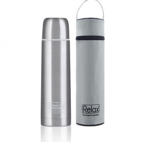 RELAX 750ML 18.8 STAINLESS STEEL CLASSIC & SIGNATURE THERMAL FLASK WITH FREE POUCH