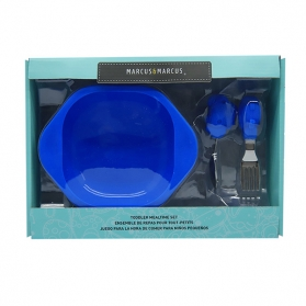 Marcus & Marcus Toddler Mealtime Set - Blue Lucas