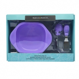 Marcus & Marcus Toddler Mealtime Set - Purple Willo