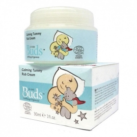 BUDS Organic Calming Rub Cream 30ml