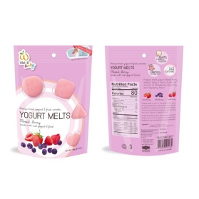 Wel.B Baby Freeze Dried Yogurt Melts - Mixed Berry