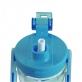 RELAX TRITAN WATER BOTTLE WITH STRAW 1400ML - CYAN BLUE
