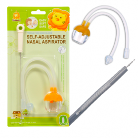 SIMBA Self-Adjustable Nasal Aspirator come with Tube Cleaning Brush