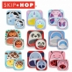 SKIP HOP Zoo Melamine Plate & Bowl Set - Unicorn